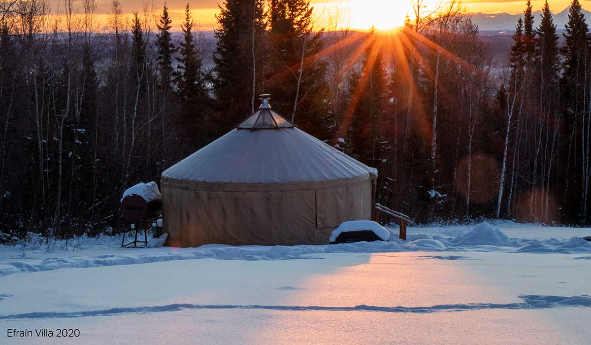 fairbanks alaska yurt