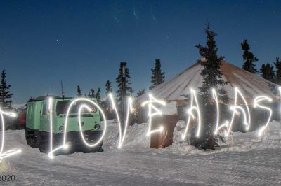 fairbanks alaska light painting