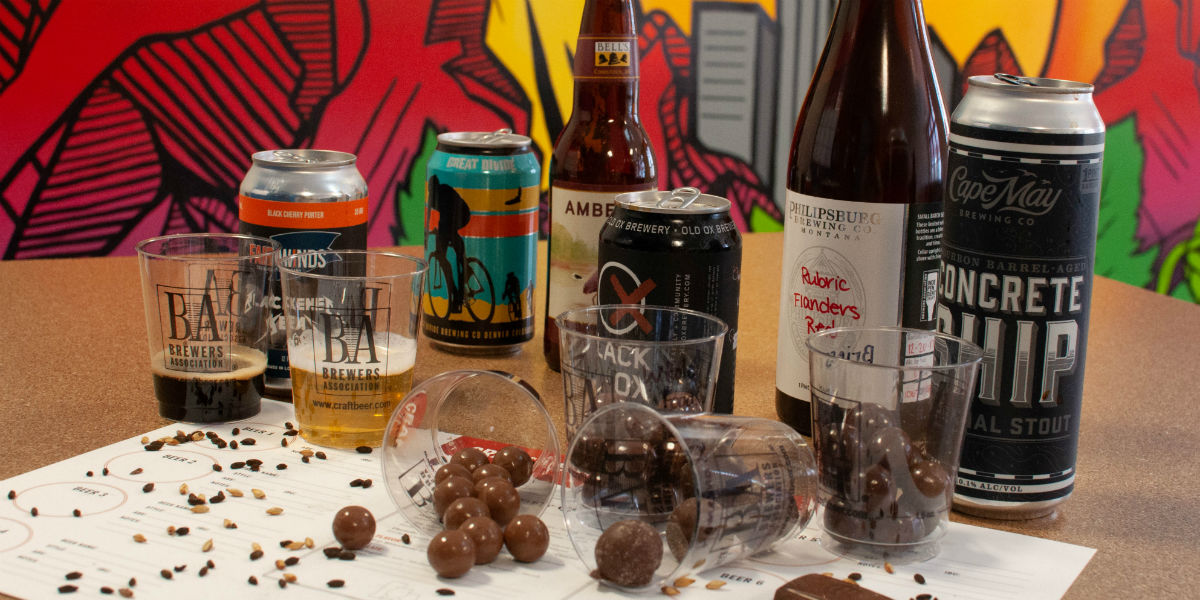 Malted Milk Ball and Craft Beer Tasting