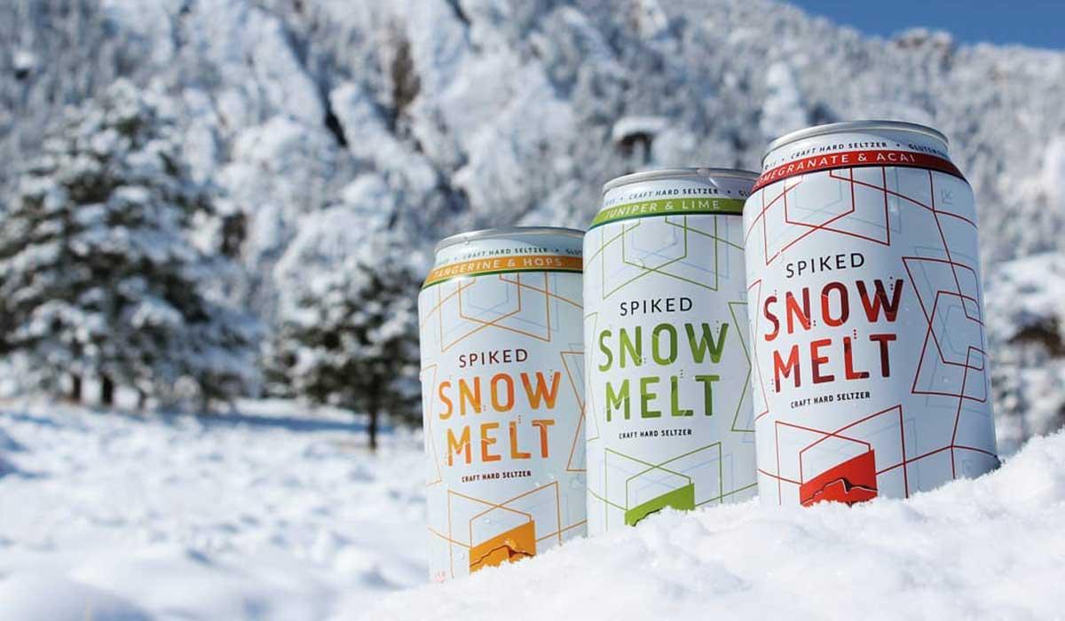 Шипастый снеготаянный твердый сельтер