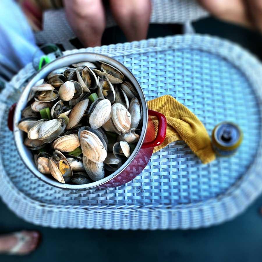 pilsner clam recipe