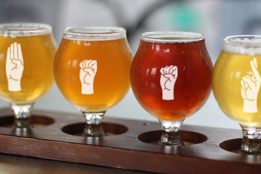 American Sign Language Brewery Tours