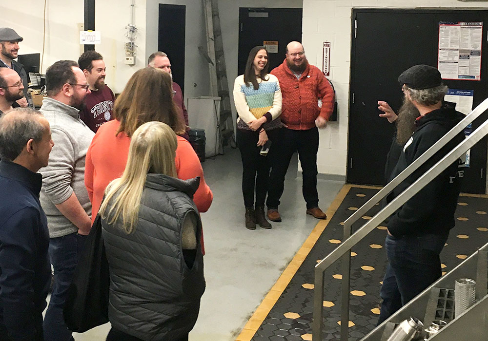 American Sign Language Brewery Tours | Dovetail Brewery