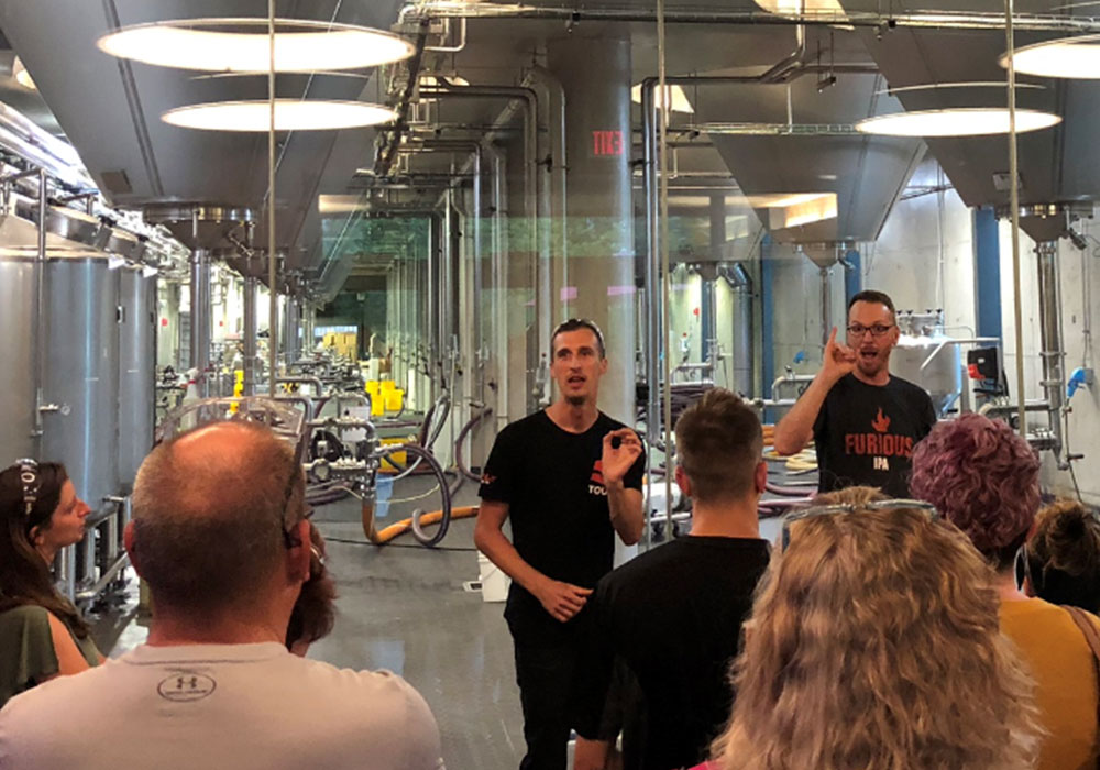 American Sign Language Brewery Tours | Surly Brewing Co.
