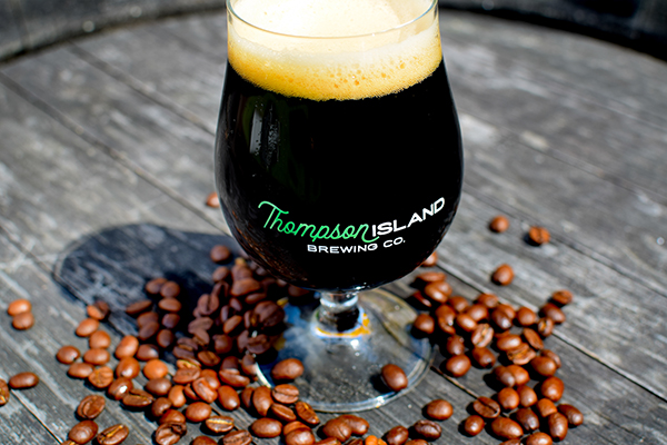 Thompson Island Brewing Co. Features Swell Joe Coffee in Basil Hayden Barrel-Aged Stout ...