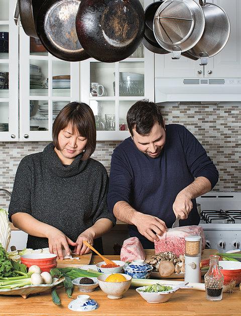 Sawako Okochi and Aaron