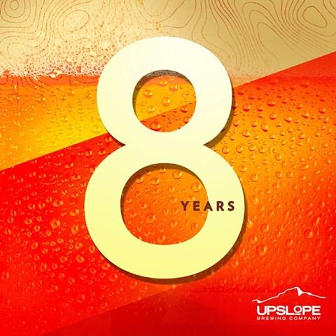 Upslope 8 Year Party
