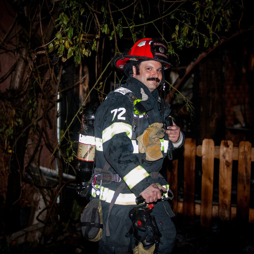 aron levin fire captain
