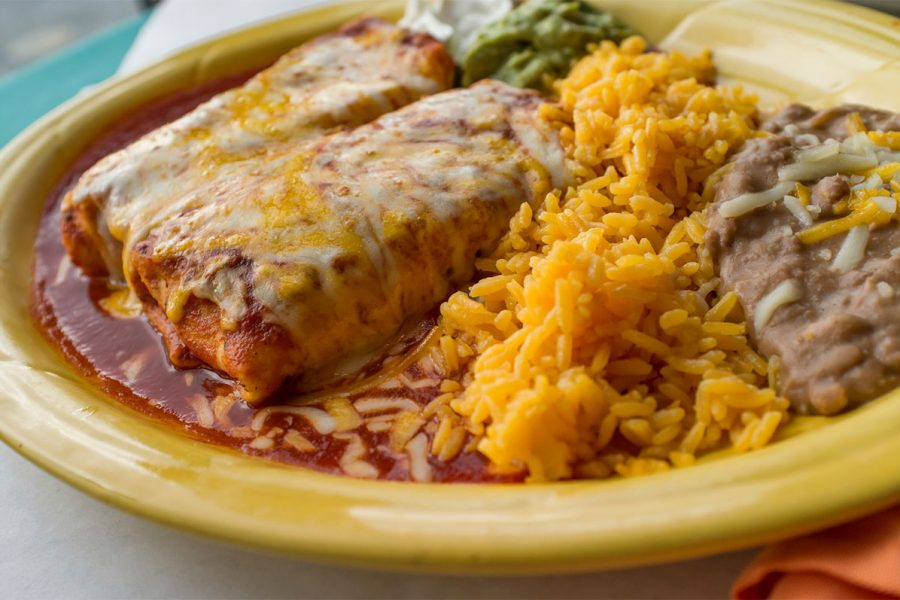 Beer Chicken Green Chile Enchiladas