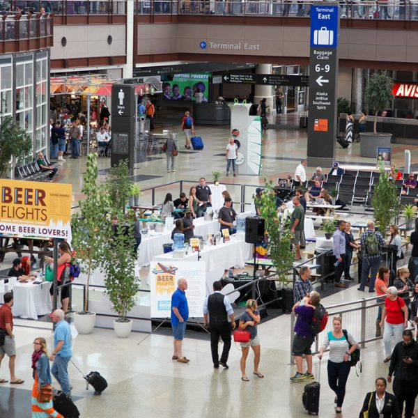 Denver international airport craft beer