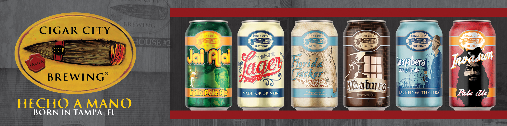 Cigar City Brewing's Core Line-up