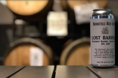 Brookville Beer Farm's Lost Barrel beer