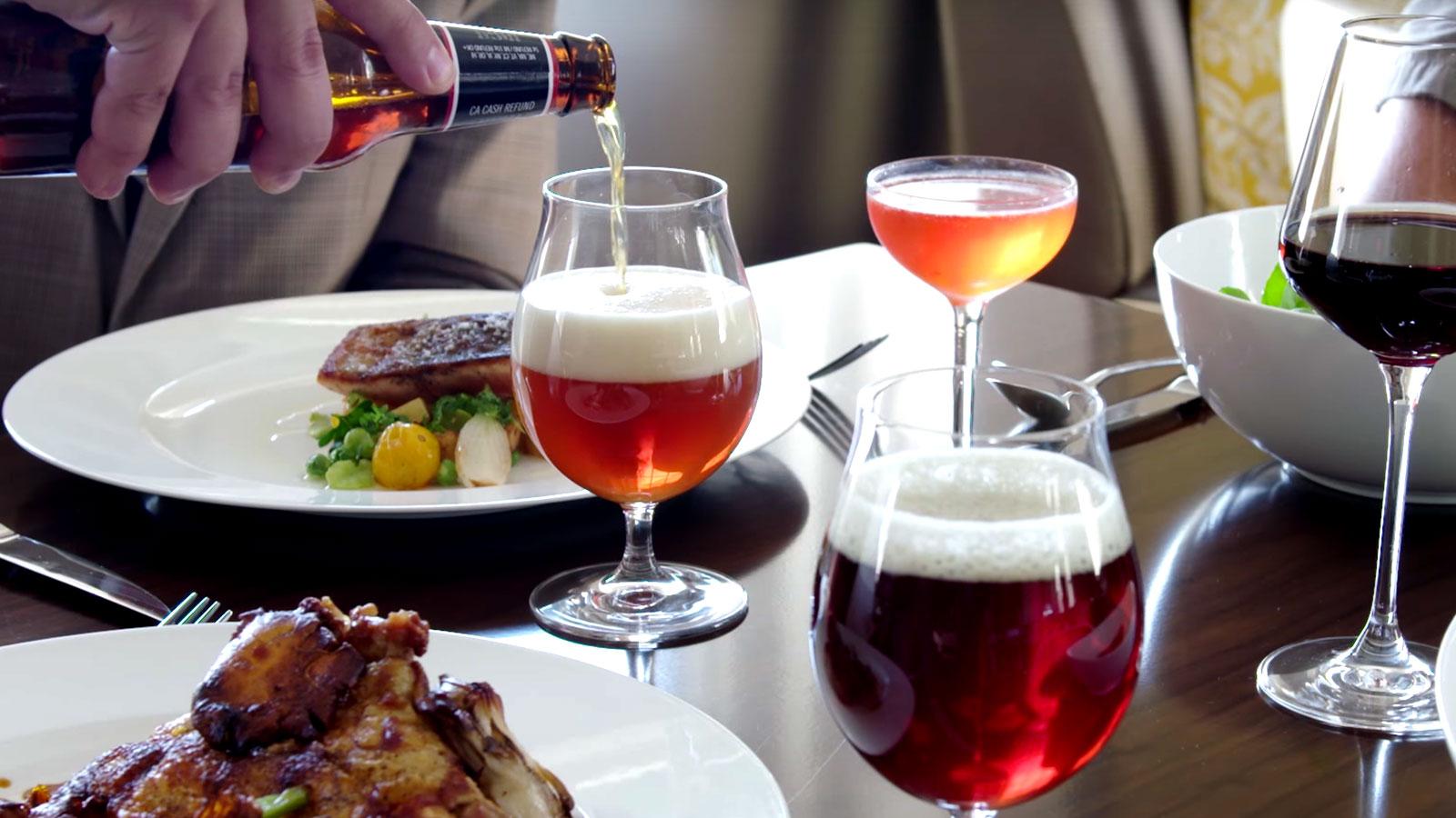 beer food course craftbeer com