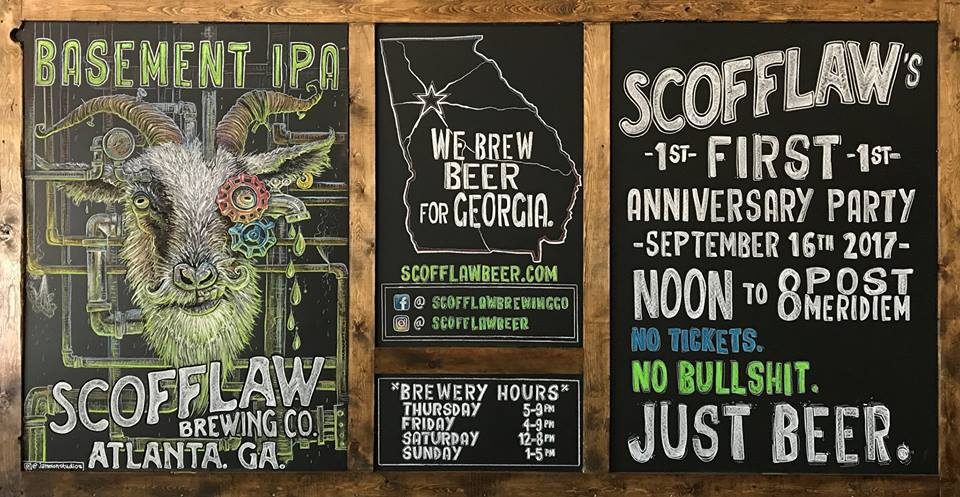 scofflaw brewing anniversary