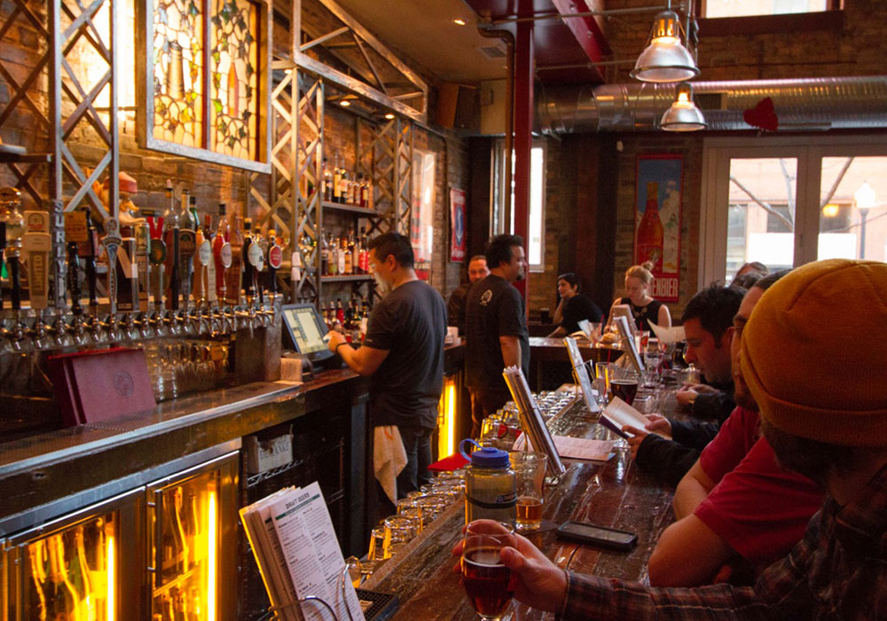 Chicago's HopLeaf Beer Bar