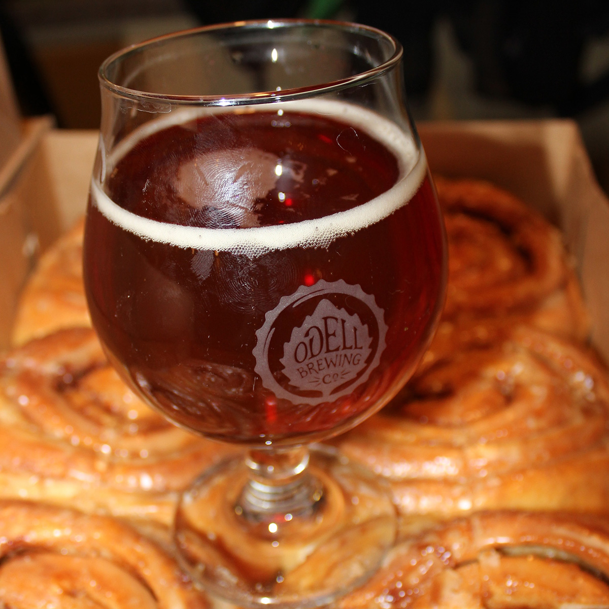 cinnamon roll beer