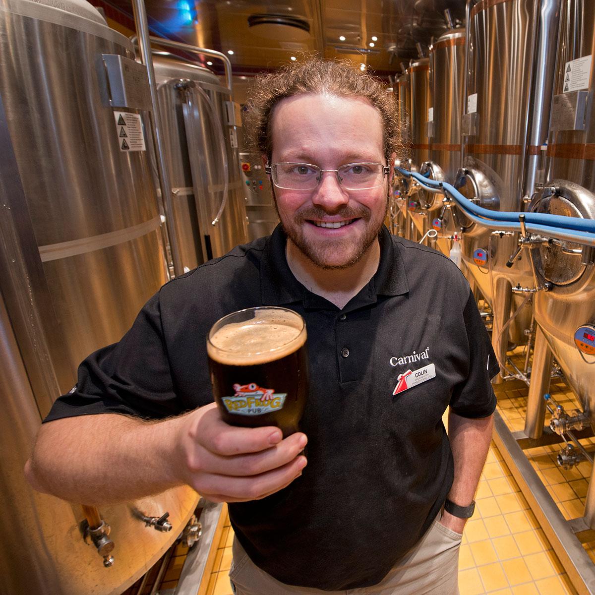 Colin Presby Carinval brewmaster