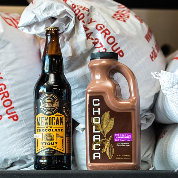 chocolate beers cholaca