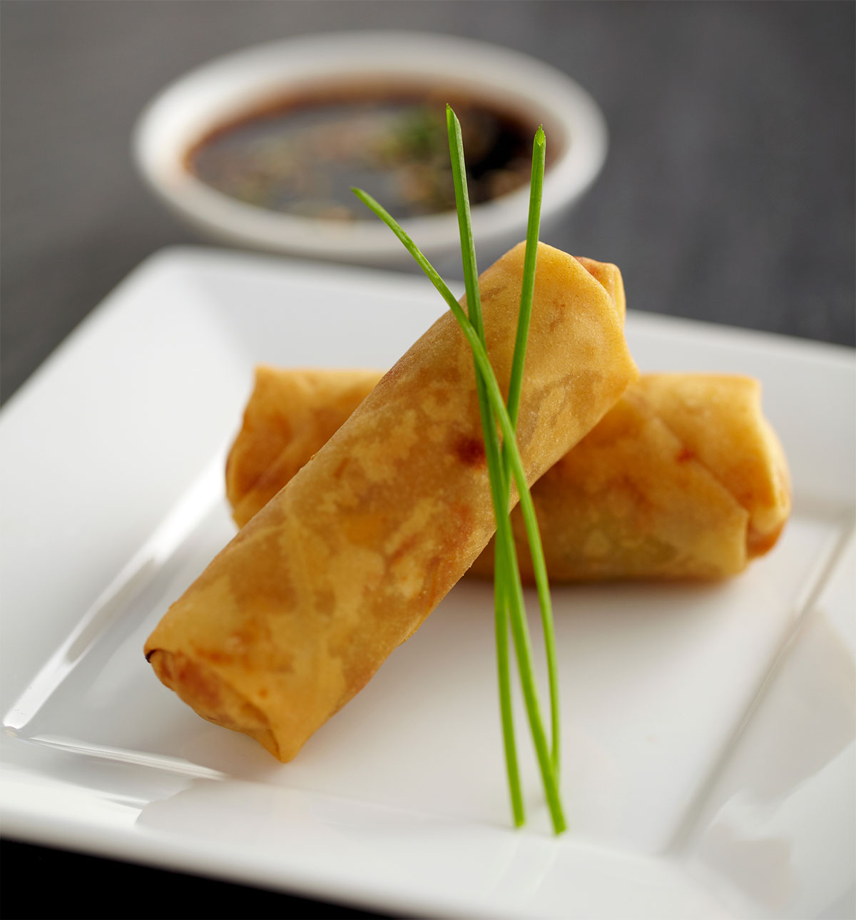 Halibut Egg Rolls with Smoked Porter | CraftBeer.com
