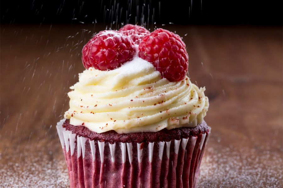 Double Chocolate Stout Red Velvet Cupcakes