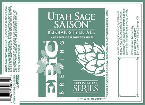 epic sage beer