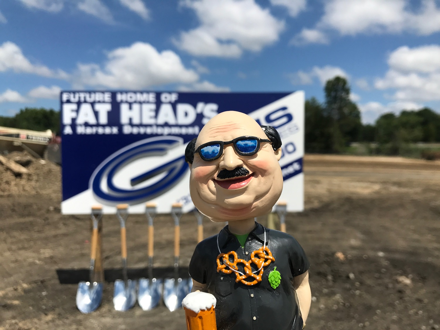 Fat Head's Brewery Ground Breaking