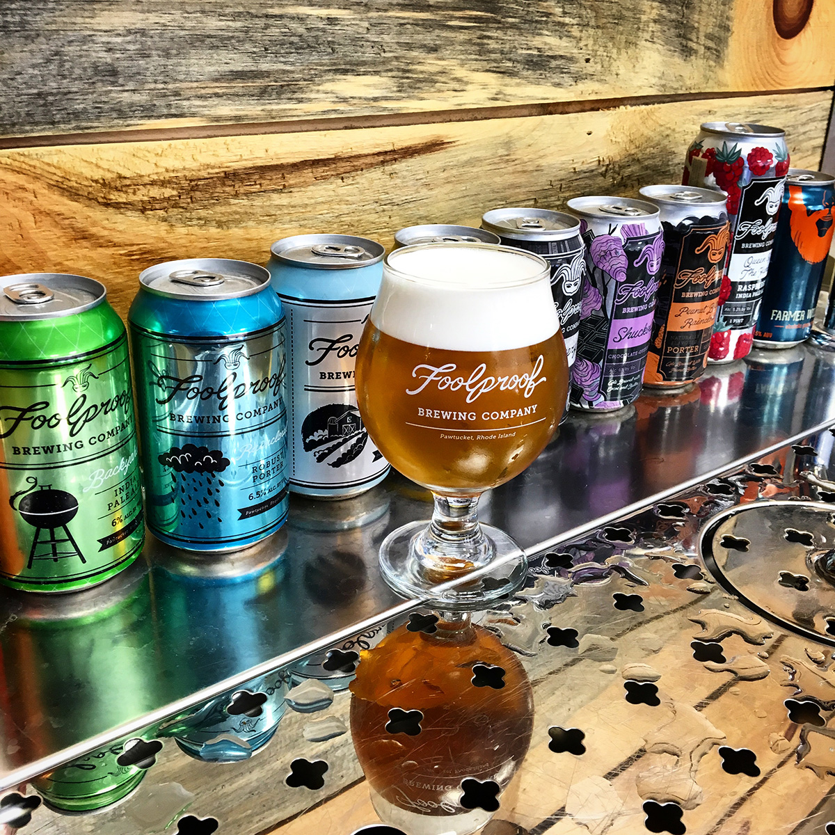 Foolproof brewing is brewing big things in tiny rhode island for Rhode island craft beer