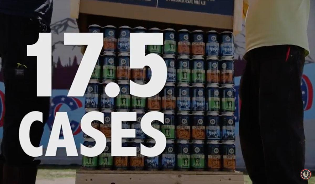 biggest beer pack