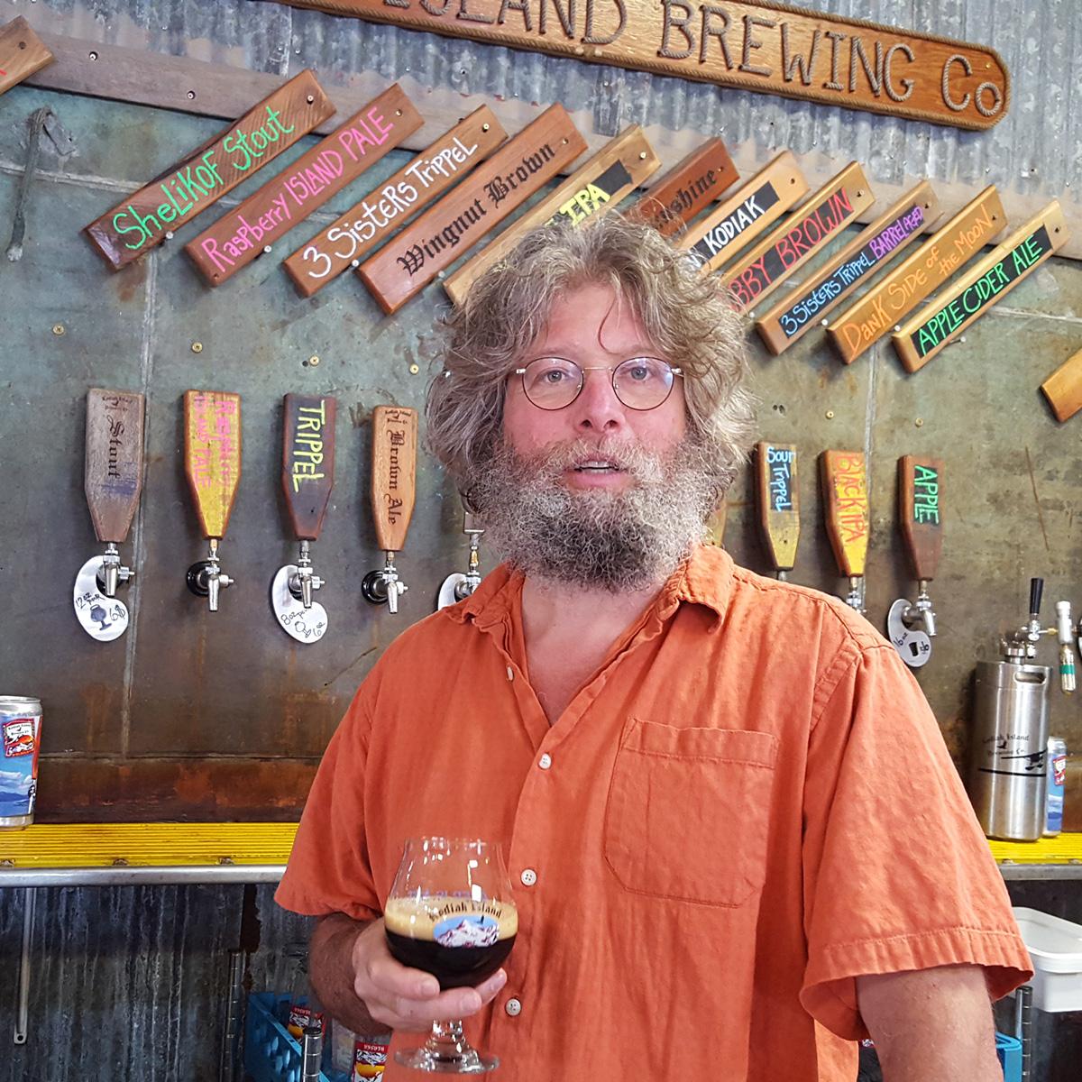 ben millstein kodiak island brewing alaska