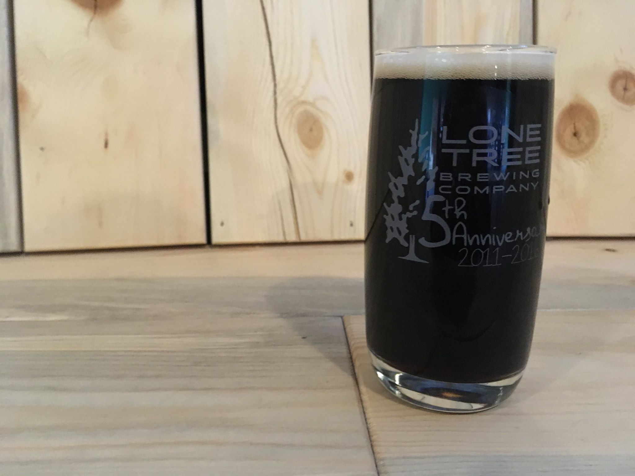 LTBC 5th Anniversary Pint Glass