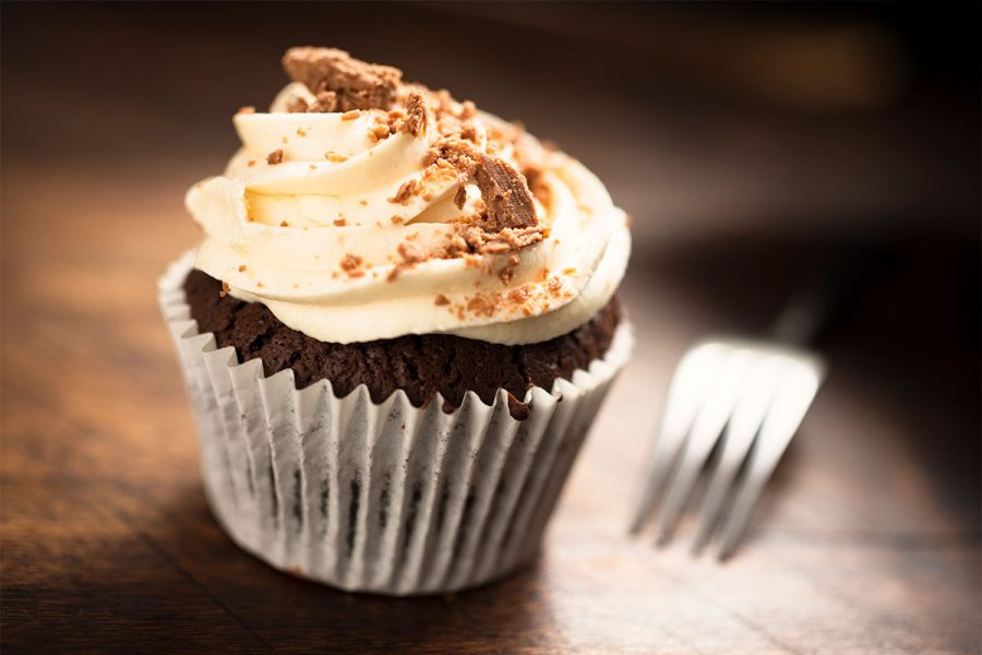 Lazy Magnolia Chocolate Stout Cupcakes