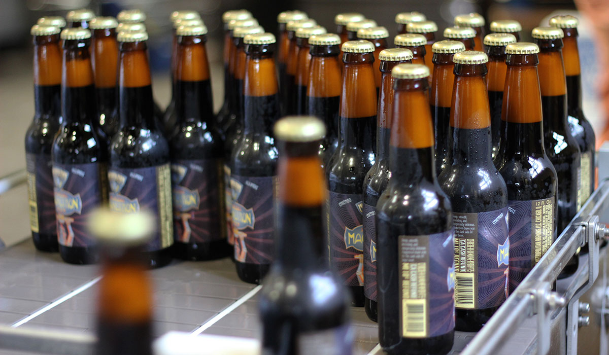 new to craft beer? these 7 dark lagers are easy on the palatedark lagers bottles of magnetron black lager roll off the line (metropolitan brewing)