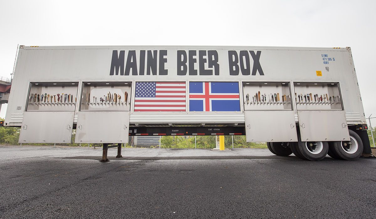 maine beer box