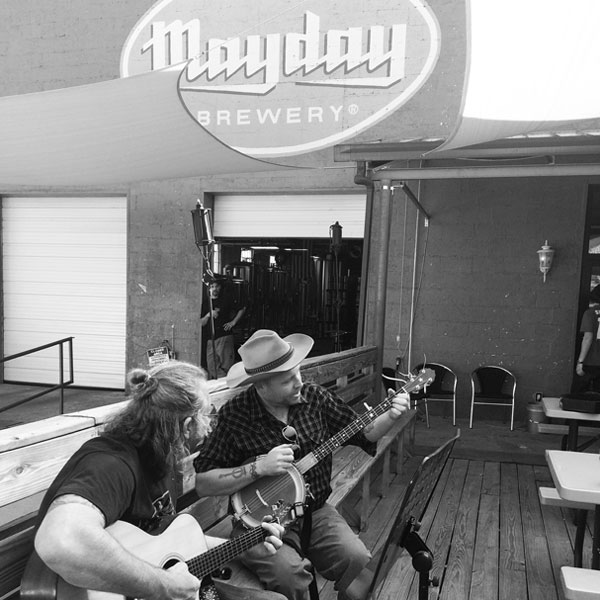 "Tennessee's Mayday Brewery calls itself a ""funky, music-centric pit stop."" (Credit: Mayday Brewery)"