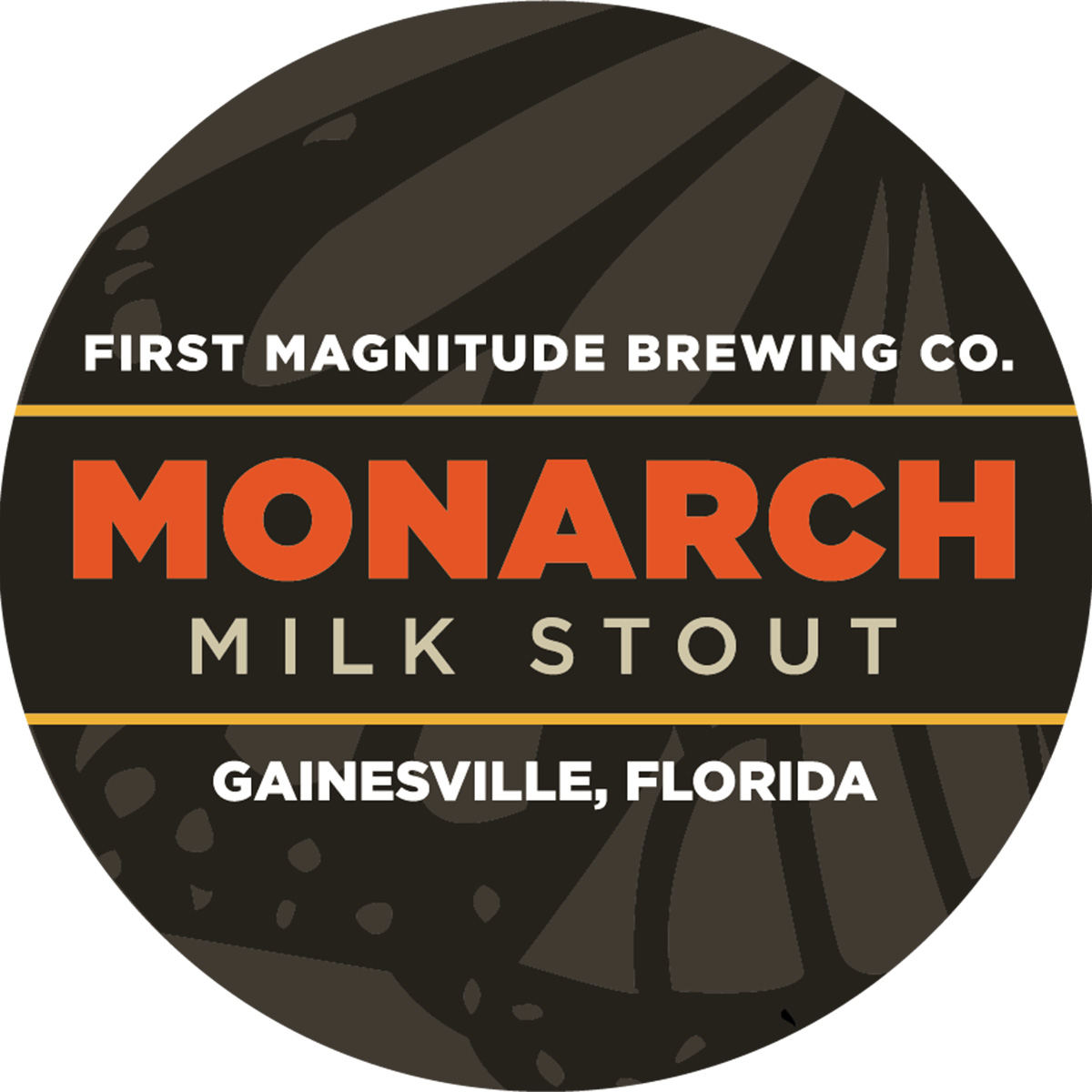 monarch milk stout butterfly beer