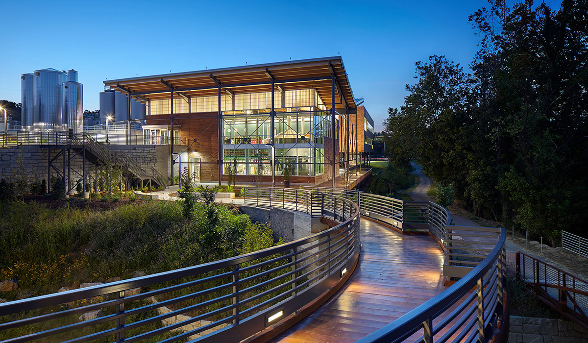 New Belgium Asheville Earns Trio Of Leed Certifications