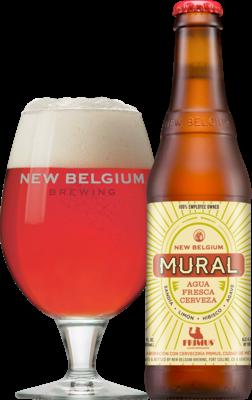 new belgium brewing announces mural agua fresca cerveza