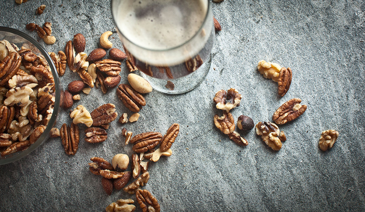 Beer and nuts
