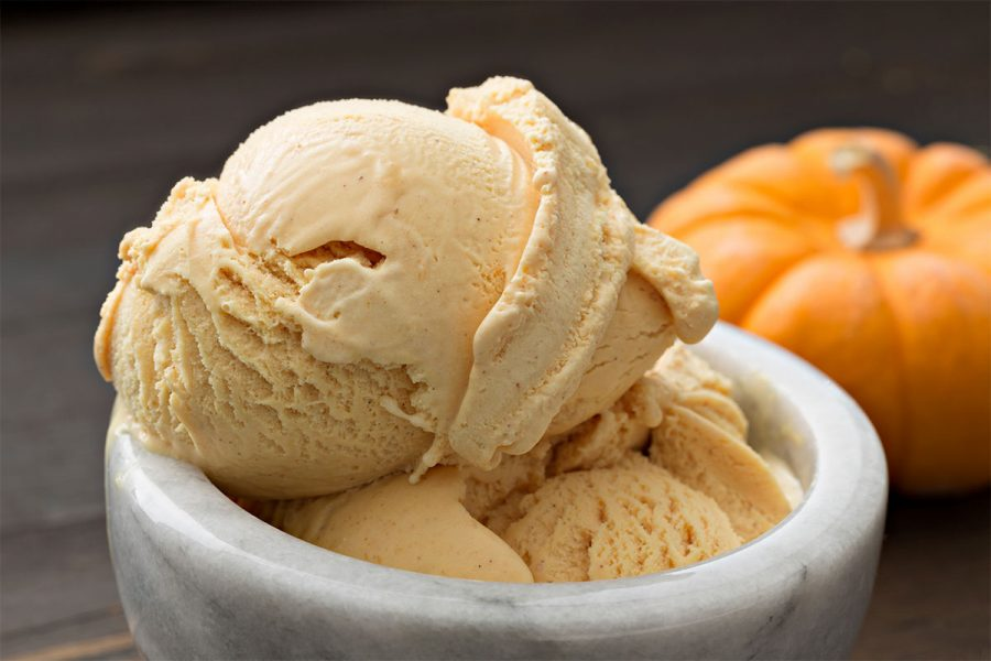 Pumpkin Beer Ice Cream