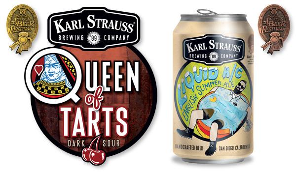 KARL's GABF medal-winning Queen of Tarts & Liquid A/C