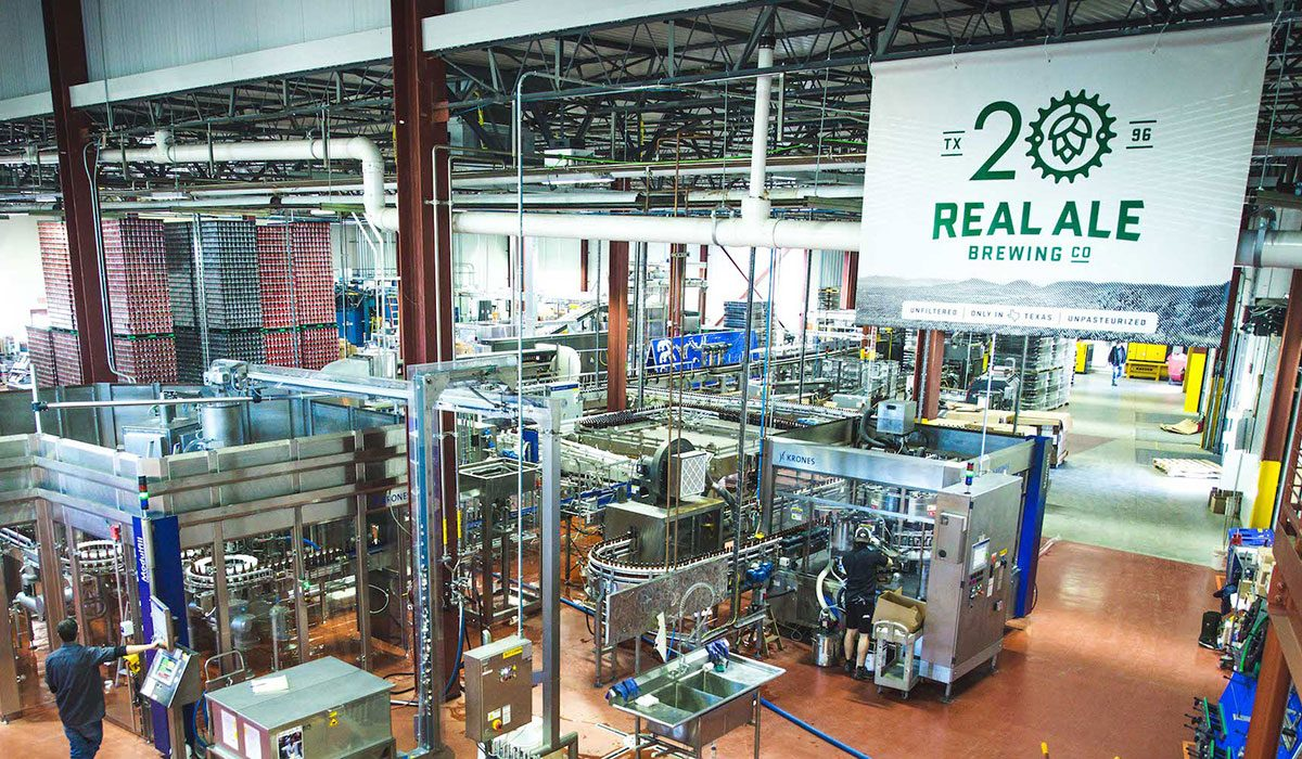 Real Ale Brewing Brewhouse