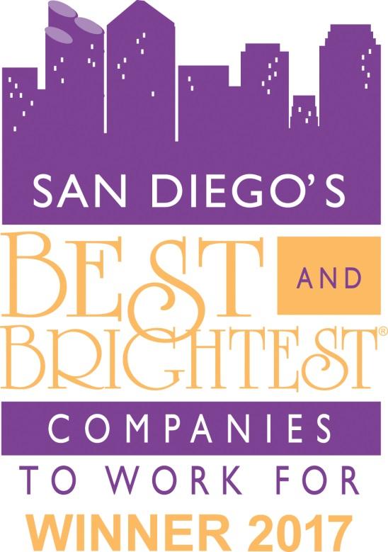 SD's Best & Brightest - Award logo