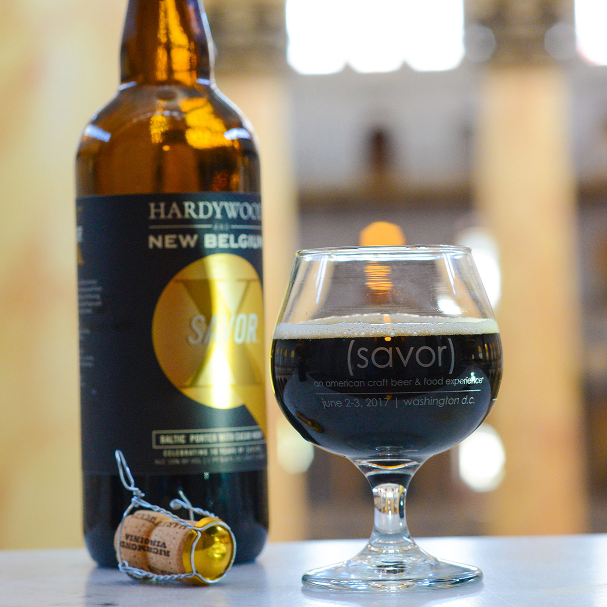 savor x collaboration beer
