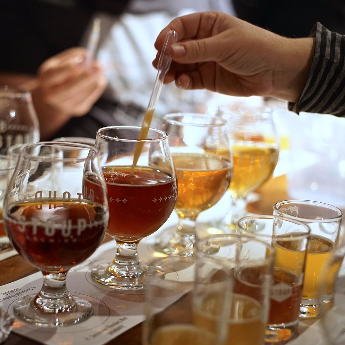 barrel blending beers