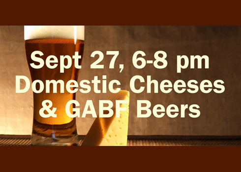 Strange craft plans strange cheese beer pairing for Strange craft beer company