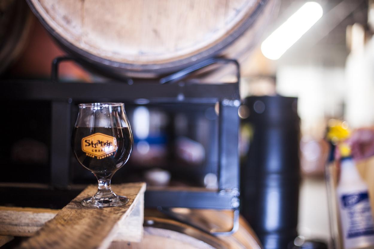 Corner Office Brewers strange craft beer pairing