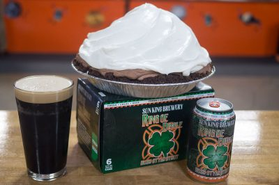 irish stout chocolate pie