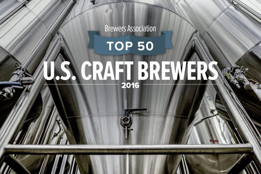 Top 50 U.S. Craft Brewers 2016