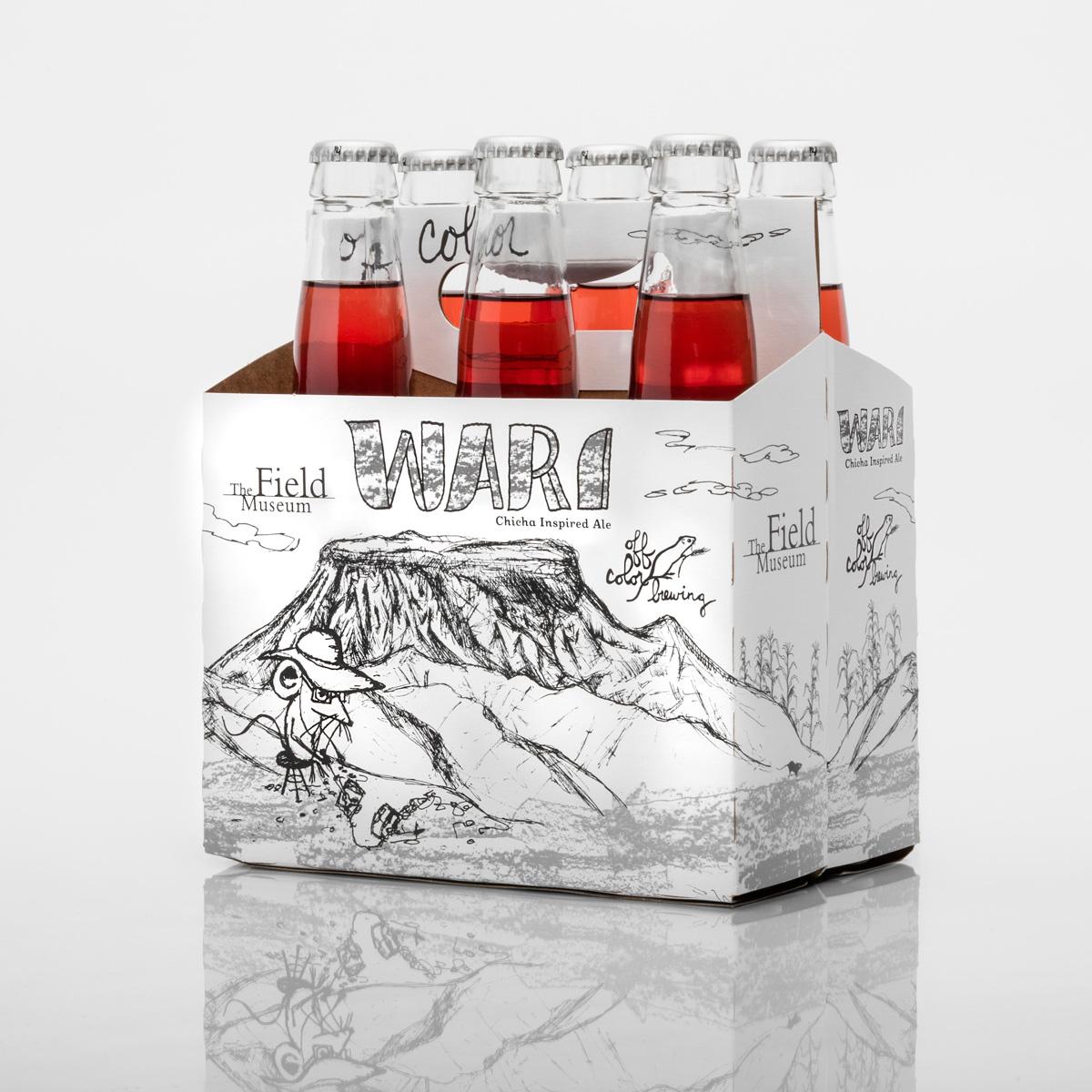 off color brewing wari beer