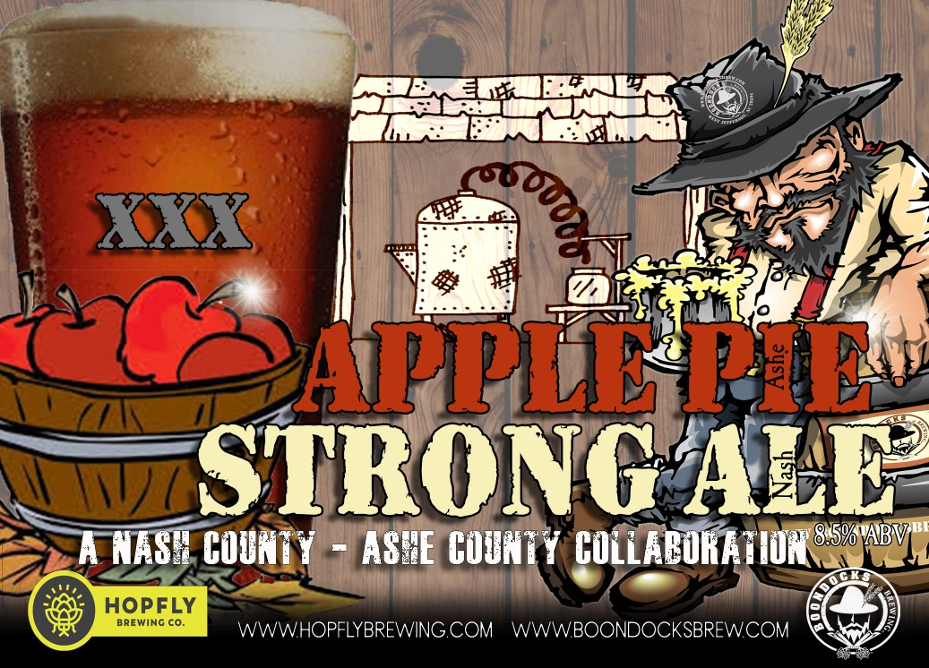 NC Craft Brewers Collaborate on Apple Pie Moonshine-Inspired Strong Ale